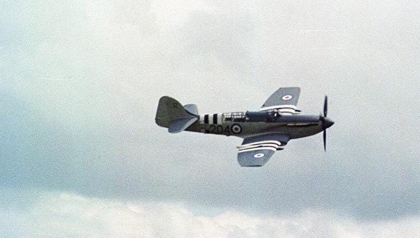 Самолет Королевского флота времен второй мировой войны Fairey Firefly