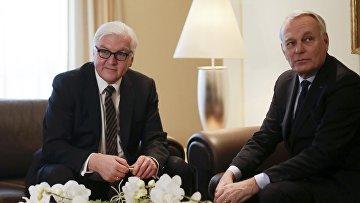 Встреча глав МИД Германии и Франции, 22 февраля 2016 года