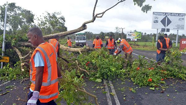Последствия циклона Уинстон на Фиджи