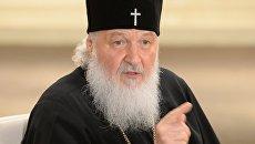 Патриарх Московский и всея Руси Кирилл встретился с журналистами в Сан-Паулу