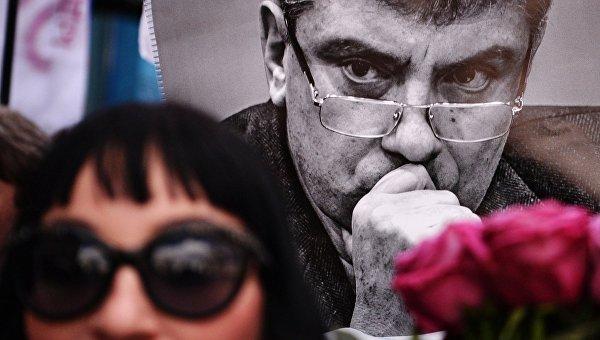 Марш посвященный памяти погибшего Бориса Немцова. Архивное фото