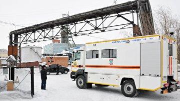Ситуация на шахте Северная в Воркуте. Архивное фото