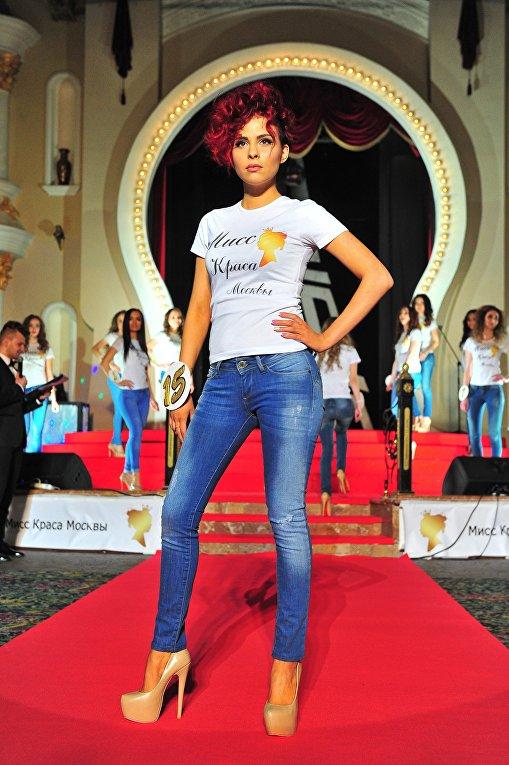 Конкурсантка Мисс Краса Москвы - 2016 Александра Кабенкова