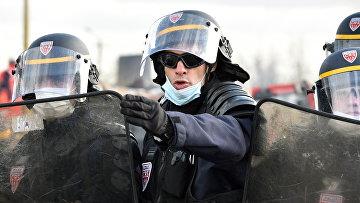 Сотрудники полиции Франции