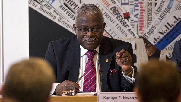 Президент Международного фонда сельскохозяйственного развития (IFAD) Канайо Нванзе. Архивное фото