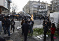 Протесты против комендантского часа в Турции. 3 марта 2016
