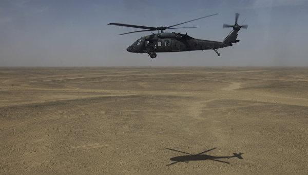 Американский многоцелевой вертолет Sikorsky UH-60 Black Hawk (Черный ястреб)