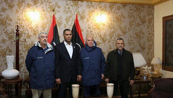 Итальянские заложники, освобожденные в Ливии, 6 марта 2016