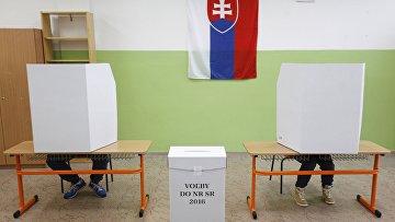 Голосование на парламентских выборах в Словакии, 5 марта 2016