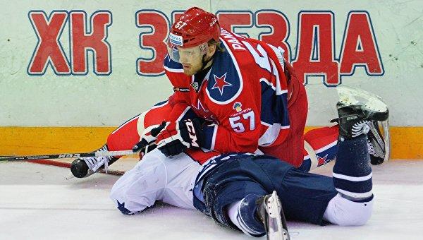 Хоккей. КХЛ. Матч ЦСКА - Торпедо