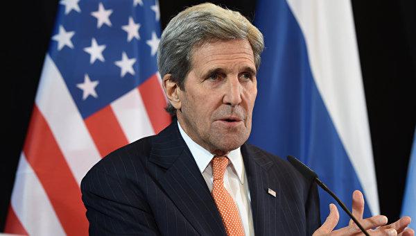 Госсекретарь США Джон Керри на встрече в Мюнхене. Архивное фото