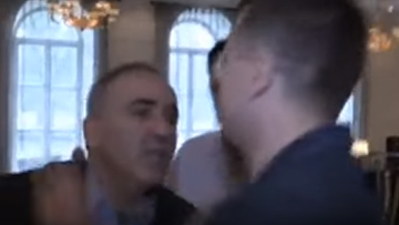 Каспаров и Рынска напали на журналистов ВГТРК в Вильнюсе. ВИДЕО. Архивное фото