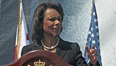 Экс-госсекретарь США Кондолиза Райс. Архивное фото