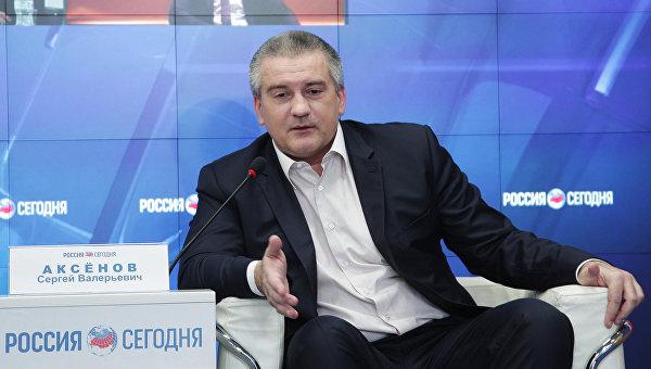 Глава Республики Крым Сергей Аксенов сква на тему: Два года воссоединению Крыма с Российской Федерацией