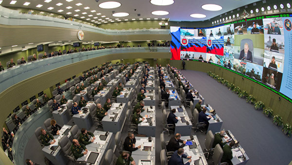 Единый день приемки военной продукции в Национальном центре обороны РФ в Москве