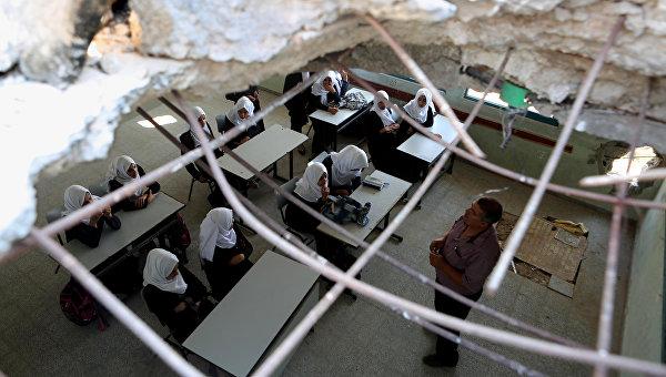 Занятия в палестинской школе. Архивное фото