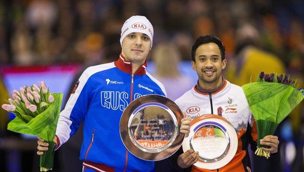 Руслан Мурашов (слева) и Гилмор Джунио
