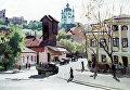 """Картина Шавыкина """"Киев. Подол"""""""