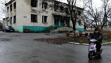Поселок Зайцево под Горловкой в Донецкой области. Архивное фото