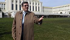 Официальный представитель Высшего комитета по переговорам оппозиции Сирии Салем аль-Муслит