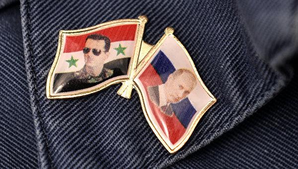 Русские олимпийцы посадили деревья наавиабазе Хмеймим вСирии