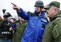 Замглава миссии ОБСЕ на Украине А. Хуг посетил район обстрелов на Ясиноватской развилке