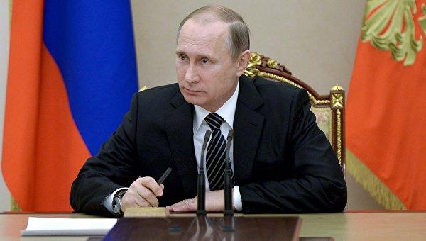 Президент РФ В. Путин провел заседание Совбеза РФ. Архивное фото