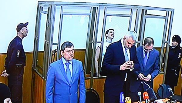 Оглашение приговора Надежде Савченко. 21 марта 2016