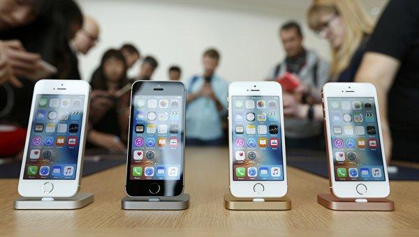 iPhone SE. Презентация новой продукции компании Apple в Купертино