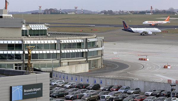 Общий вид на аэропорт Брюсселя. Архивное фото