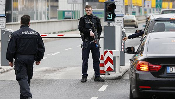 Сотрудники полиции ФРГ