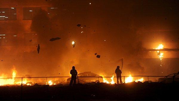 Пожар в Дубае, ОАЭ