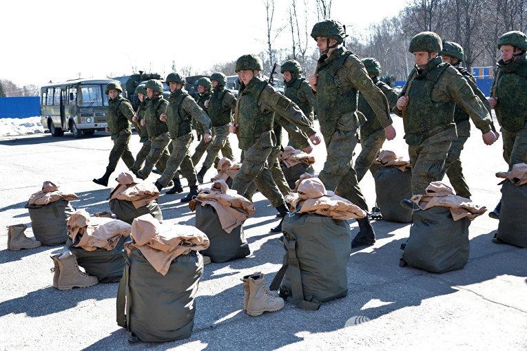 Саперы минобороны РФ в Международном противоминном центре ВС РФ в Нахабино готовятся к отправке в Сирию для разминирования Пальмиры