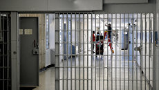 Коридор тюрьмы, США. Архивное фото
