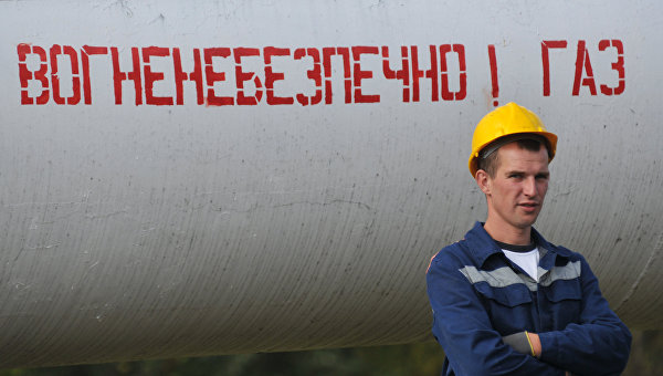 Газовый трубопровод, Украина. Архивное фото