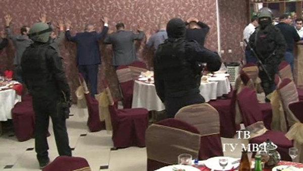 Силовики задержали 167 человек на воровской сходке в Екатеринбурге