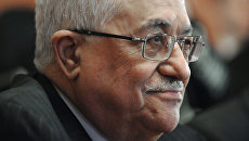 Глава Палестинской национальной администрации Махмуд Аббас. Архив.