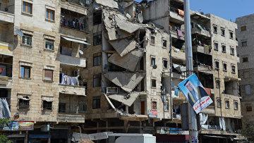 Дома в Алеппо. Архивное фото