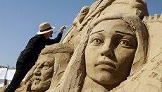 Фестиваль Песочная фантазия в Казахстане