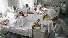 Пациенты Калининградской областной клинической больницы. Архивное фото