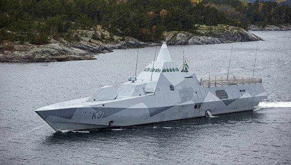 Корвет Висбю ВМС Швеции. Архивное фото