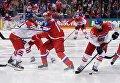 Хоккей. Чемпионат мира. Матч Чехия - Россия