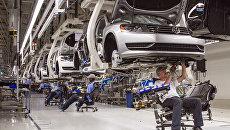 Завод по сборке автомобилей в США. Архивное фото
