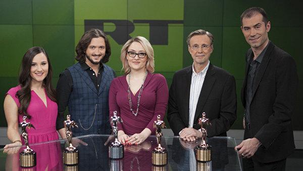 Телеканал RT America удостоили премии в области теле- и кинопроизводства Telly Awards