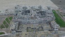 Как выглядит аэропорт Донецка спустя два года после начала боевых действий в ДНР