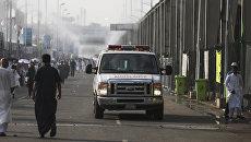 Карета скорой помощи в Саудовской Аравии. Архивное фото
