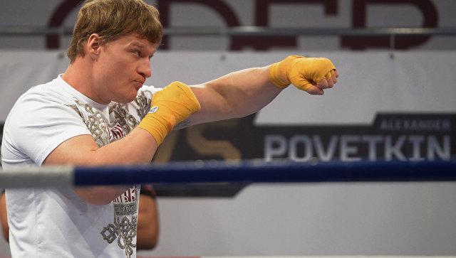 Русского боксера Поветкина дисквалифицировали из-за мельдония