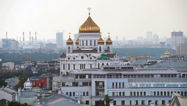 Храм Христа Спасителя в Москве. Архивное фото