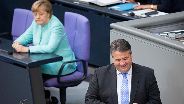 Картинки по запросу Зигмар Габриэль и Меркель