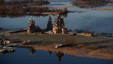 Музей-заповедник Кижи в республике Карелия. Архивное фото